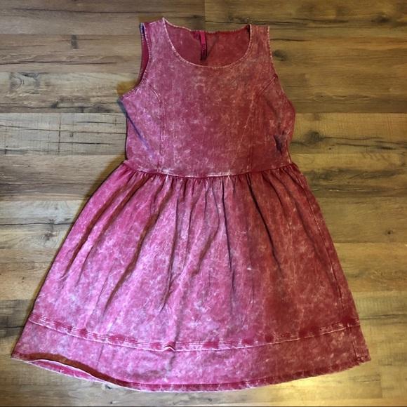 Boohoo Dresses & Skirts - Boohoo Acid Wash summer dress size 8